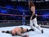 WWE 2016毫不留情大赛《毒蛇奥顿遭布雷
